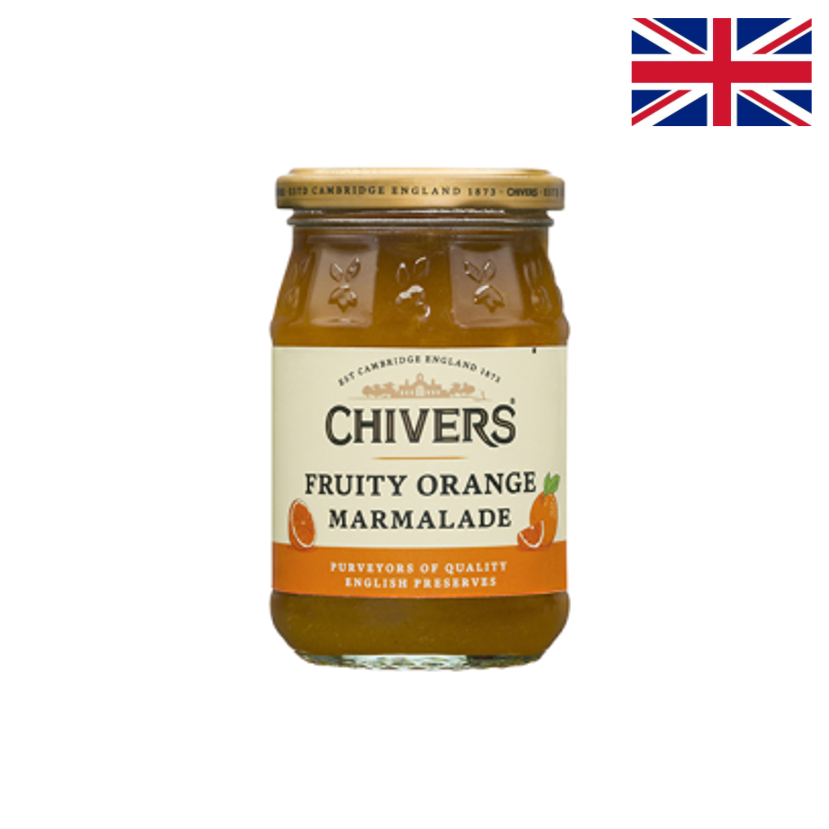 CHIVERS MARMELADE FRUITY ORANGE -340 G