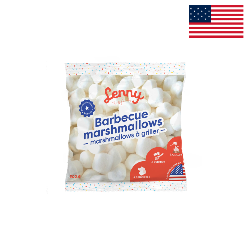 LENNY - BARBECUE MARSHMALLOWS - 300G