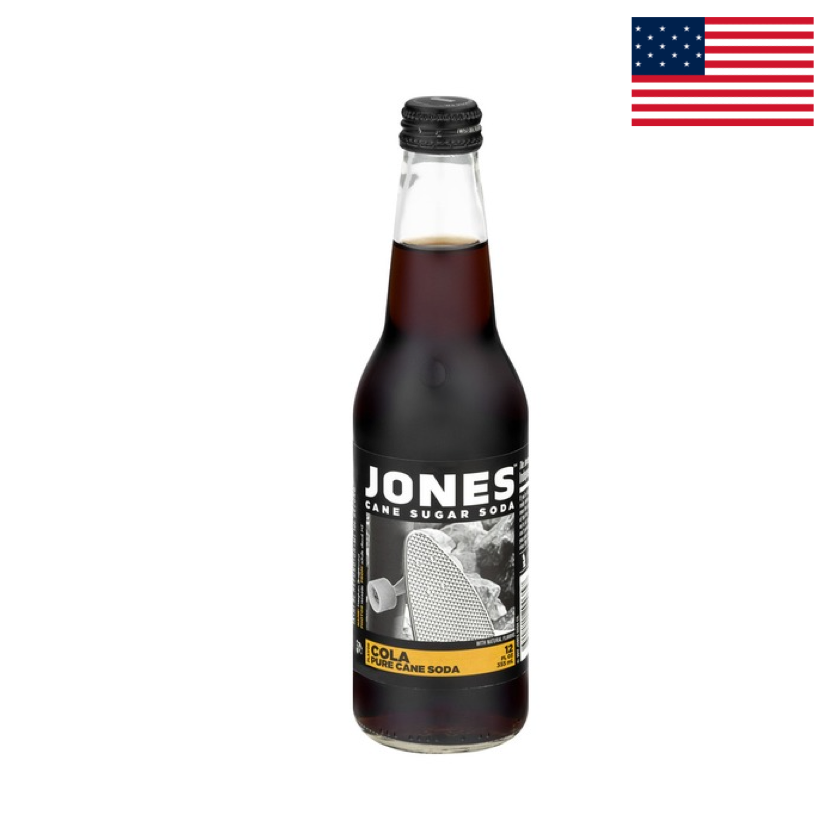 JONES SODA - COLA 355ML
