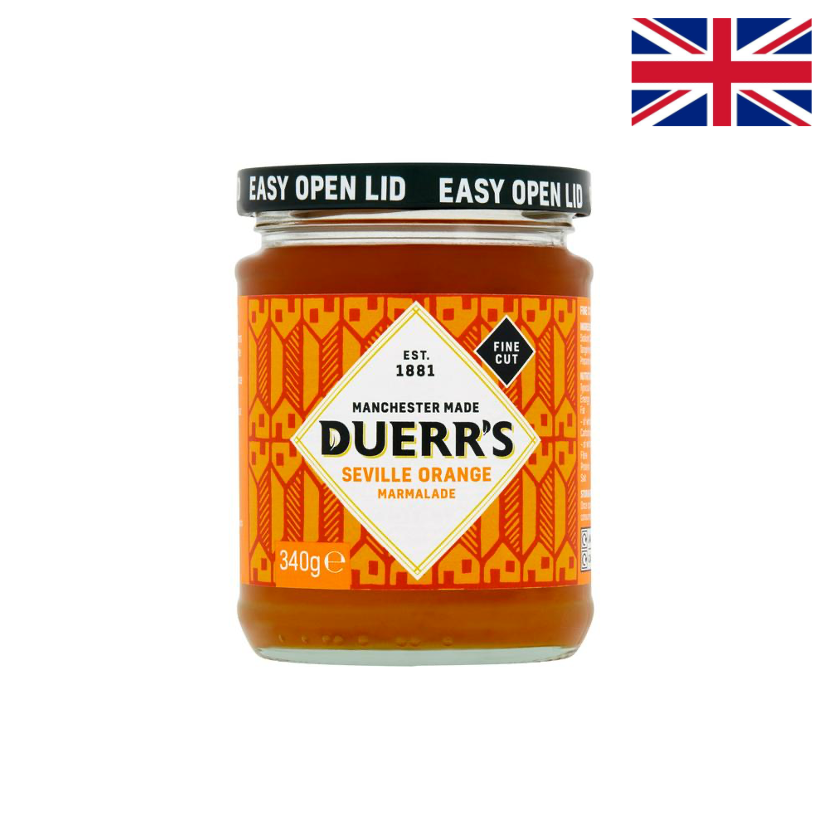 DUERR S - MARMELADE ORANGE COUPE FINE - 340 G