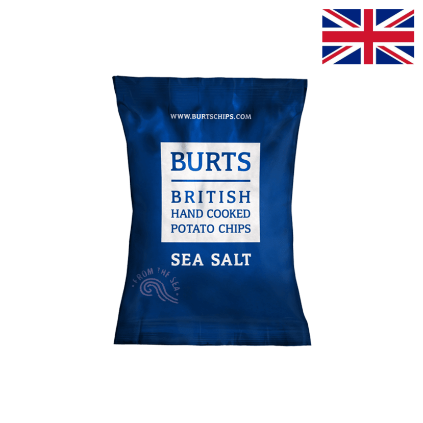 BURT'S - SEA SALT CHIPS - 150 G