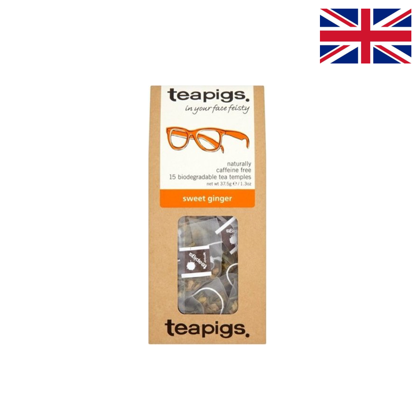 TEAPIGS - Infusion - Gingembre doux - 15 sachets