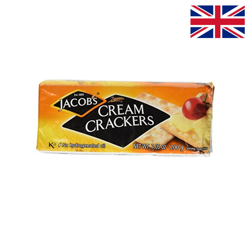 JACOB'S - CREAM CRACKERS 200 G