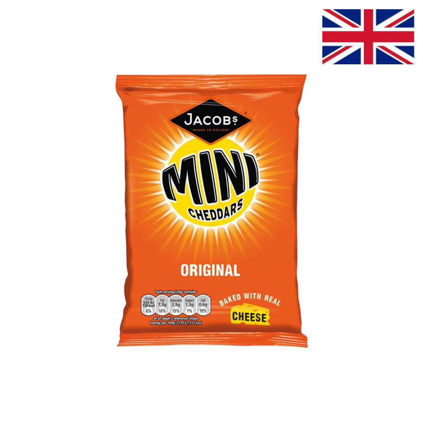 JACOB'S - MINI CHEDDARS - 50 G