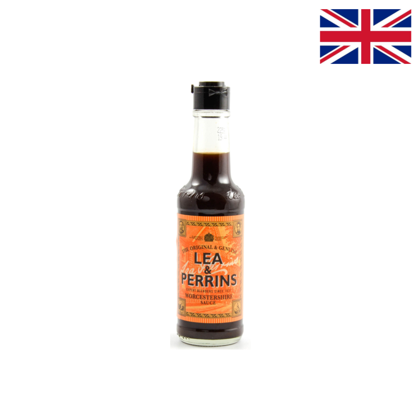 LEA & PERRINS - WORCESTERSHIRE SAUCE - 150 ML