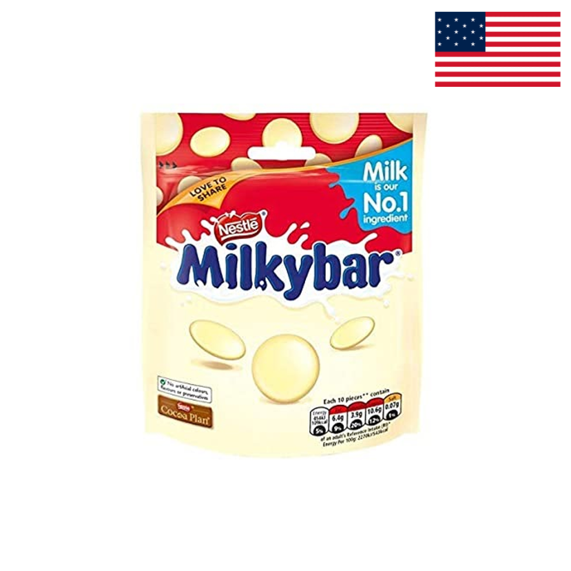 MILKYBAR - WHITE CHOCOLATE SHARING POUCH - 103G