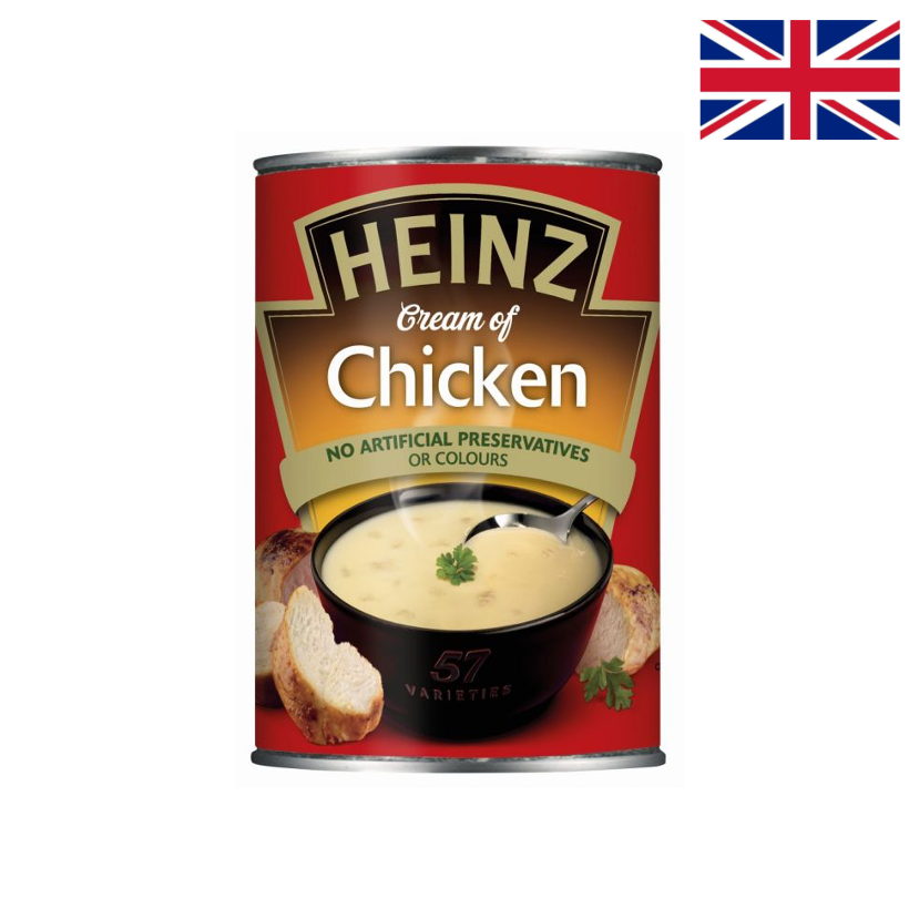HEINZ - CREAM OF CHICKEN SOUP - 400 G