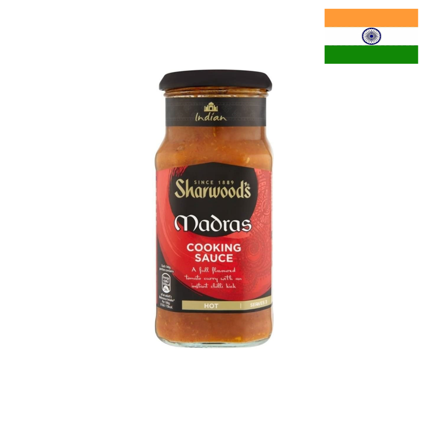 SHARWOOD'S - SAUCE MADRAS - 420 G