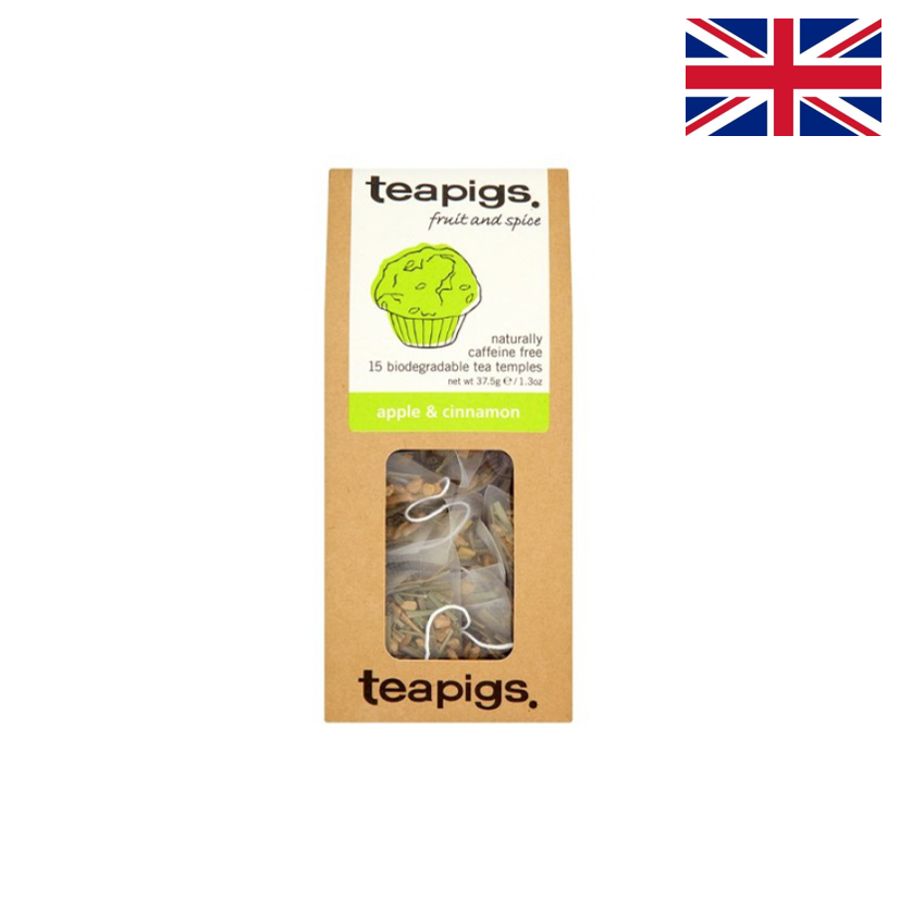 TEAPIGS - Infusion - Pomme & cannelle - 15 sachets