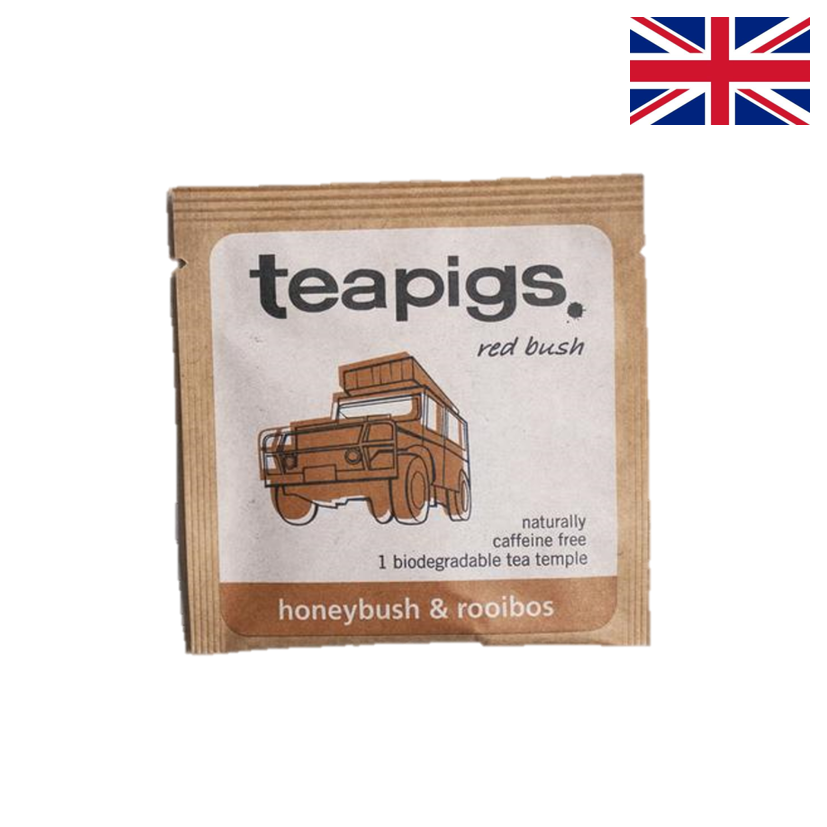 TEAPIGS - Infusion - Honeybush & rooibos - Boîte 50 sachets individuels