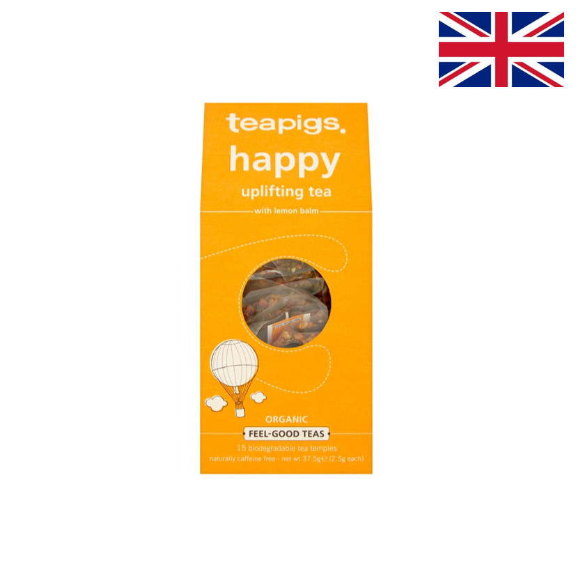 TEAPIGS - Tisane réconfortante - Happy - 15 sachets