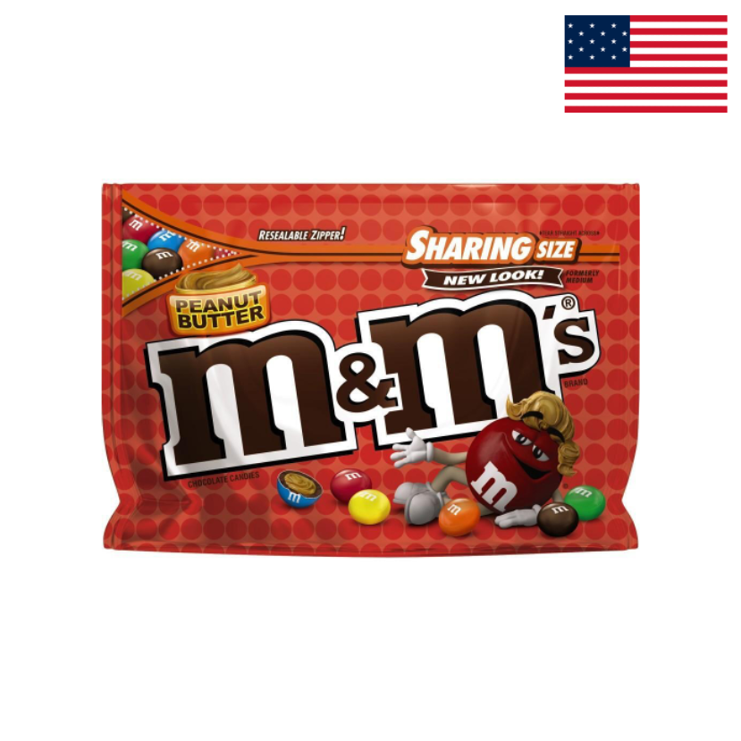 M&MS - PEANUT BUTTER - STAND UP BAG - 272,2 G