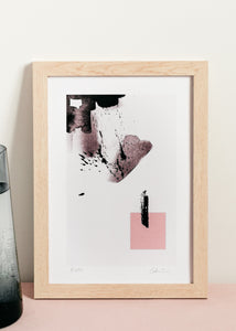 Rose I Abstract Print