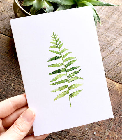 Fern Cards Pack (6)