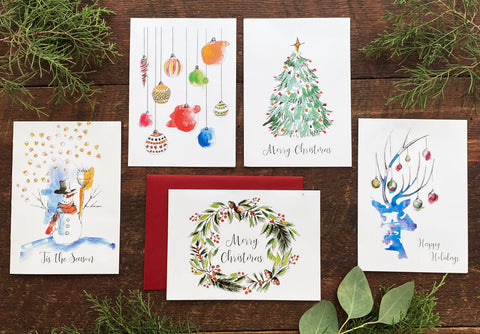 Christmas Cards Pack (5)