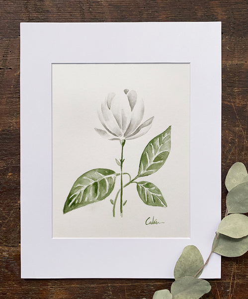 Small White Magnolia Original