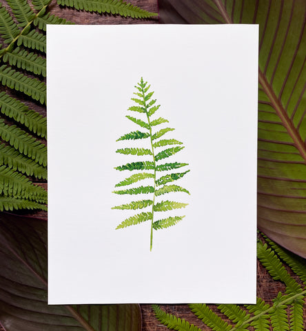 Common Fern Print