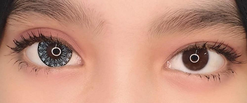 Kawayii Crystal Blue-Colored Contacts-UNIQSO