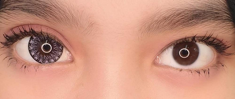 Kawayii Crystal Violet-Colored Contacts-UNIQSO