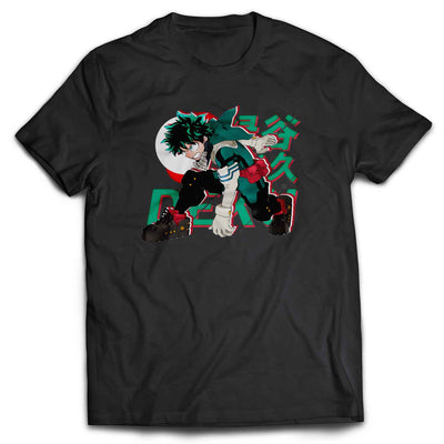 Boku no Hero - Midoriya Izuku Fan's Art T Shirt / Sweatshirt / Hoodie / Vneck