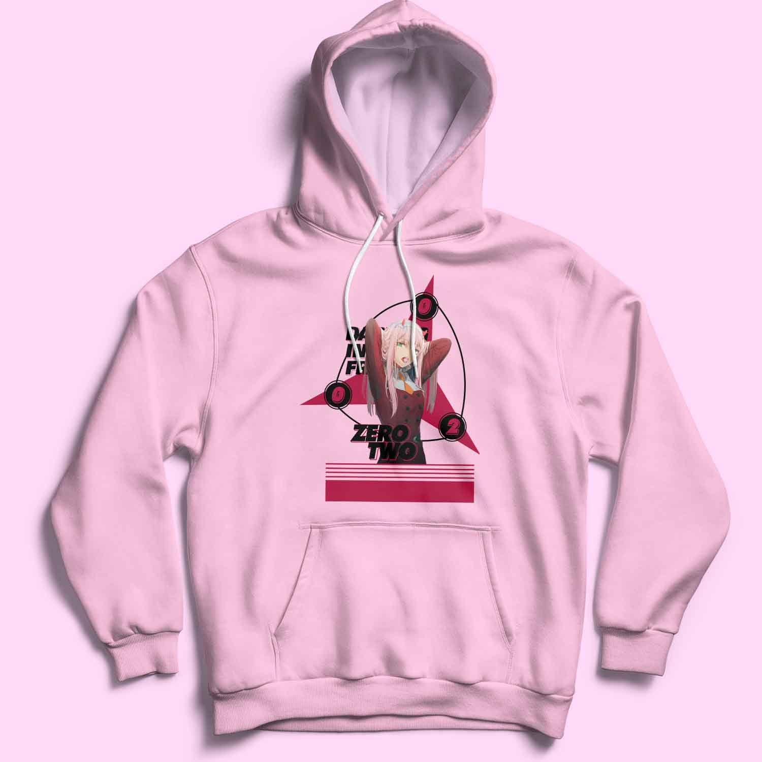 Darling in Franxx - Zero Two Fan's Art T Shirt / Sweatshirt / Hoodie / Vneck