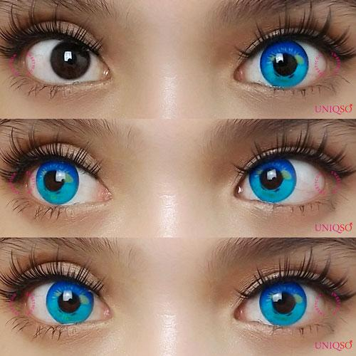 Sweety Anime Blue-Colored Contacts-UNIQSO
