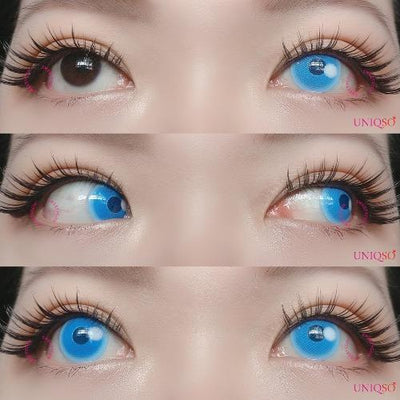 Sweety - Anime Cloud Blue-Colored Contacts-UNIQSO