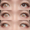 Sweety - Anime Cloud Rim Brown - Demon Slayer - Zenitsu Agatsuma-Colored Contacts-UNIQSO