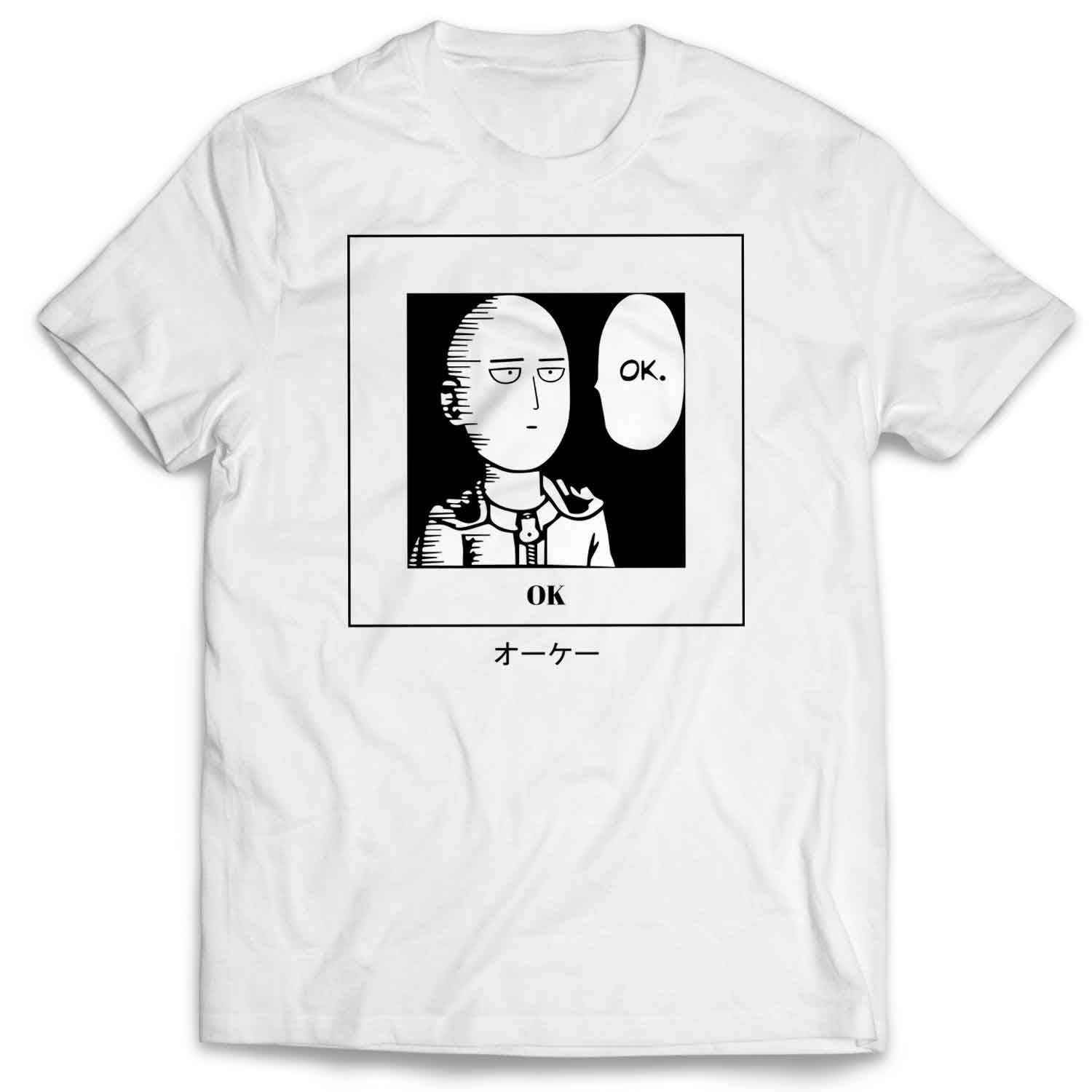 One Punch Man - OK! Saitama Fan's Art T Shirt / Sweatshirt / Hoodie / Vneck