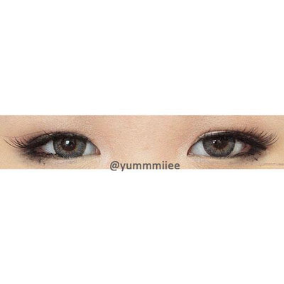 Barbie Puffy 3 Tones Grey-Colored Contacts-UNIQSO