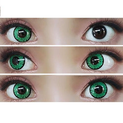 Sweety Queen Green-Colored Contacts-UNIQSO
