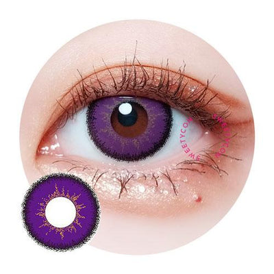 Sweety Max Violet-Colored Contacts-UNIQSO