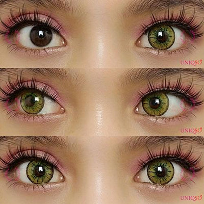 Sweety Candy Gold-Colored Contacts-UNIQSO