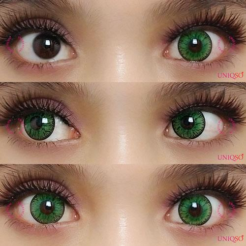 Sweety Candy Green-Colored Contacts-UNIQSO