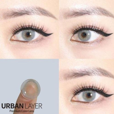 Urban Layer Cloud Grey-Colored Contacts-UNIQSO