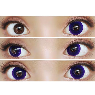 Sweety Crazy Lens - Pure Dark Violet-UNIQSO