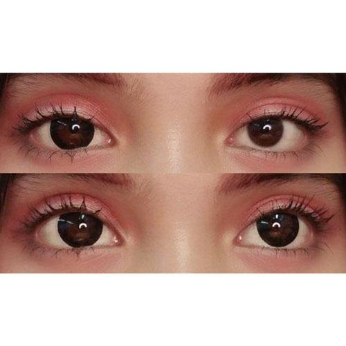 Sweety Circle Black-Colored Contacts-UNIQSO