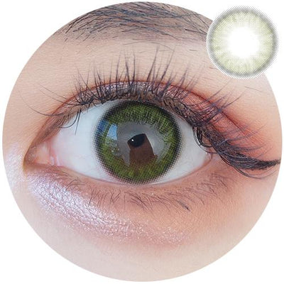 Sweety Crystal I Green-Colored Contacts-UNIQSO