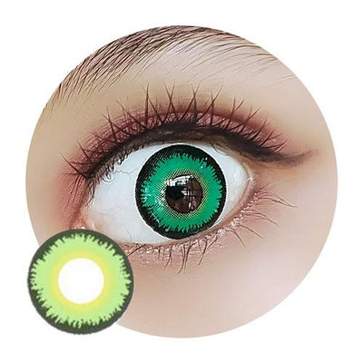 EOS Crazy Green Serpent-Crazy Contacts-UNIQSO