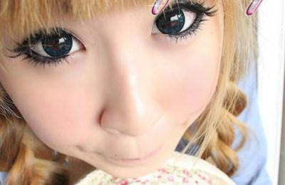 Barbie Eclipse Blue-Colored Contacts-UNIQSO