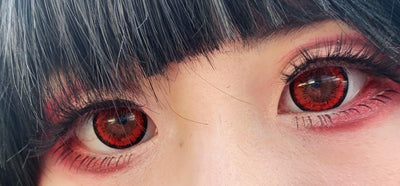Urban Layer Crazy Lens - Tokyo Red (similar to dolly red)-Crazy Contacts-UNIQSO