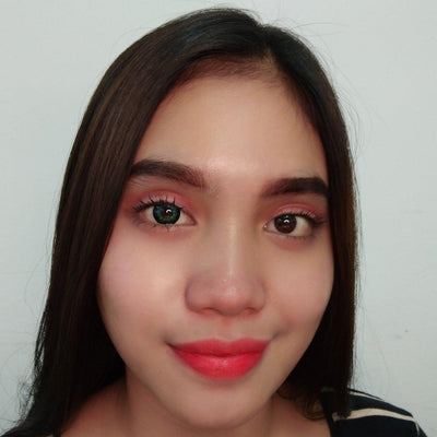 EOS Ruby Green-Colored Contacts-UNIQSO