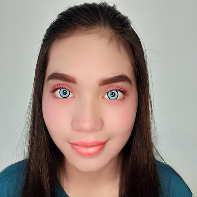 Sweety Crazy Lens - Blue Shadow-Crazy Contacts-UNIQSO