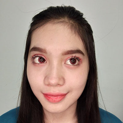 EOS Vivid Red-Colored Contacts-UNIQSO