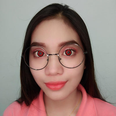 Sweety Crazy Lens - BT Red-Colored Contacts-UNIQSO
