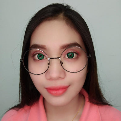 Sweety Crazy Lens - BT Green-Colored Contacts-UNIQSO