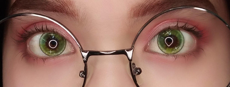 Sweety Colorful Fruit Green-Colored Contacts-UNIQSO