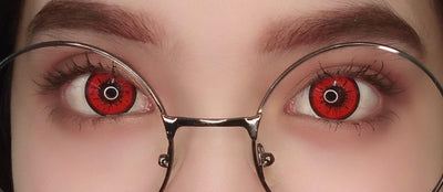 Sweety Sky Red-Colored Contacts-UNIQSO