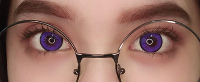 Sweety Sky Violet-Colored Contacts-UNIQSO