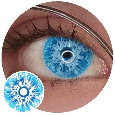 Sweety Crazy Lens Game of Thrones - White Walker (UV)-UNIQSO